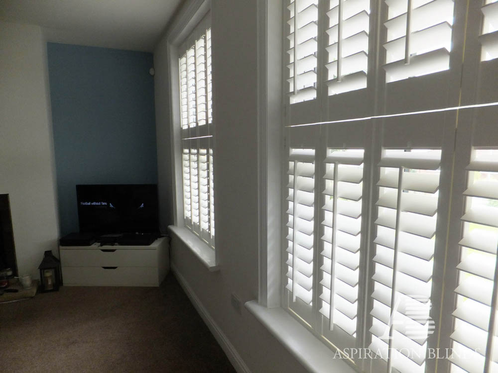 Tier On Tier Cafe Style Window Blinds By Aspiration Blinds