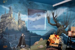 harry potter themed bedroom blinds