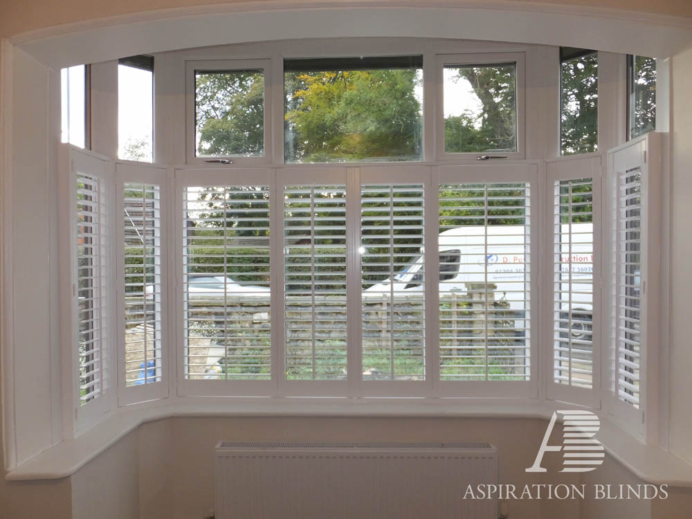 Cafe Style Window Shutters By Aspiration Blinds