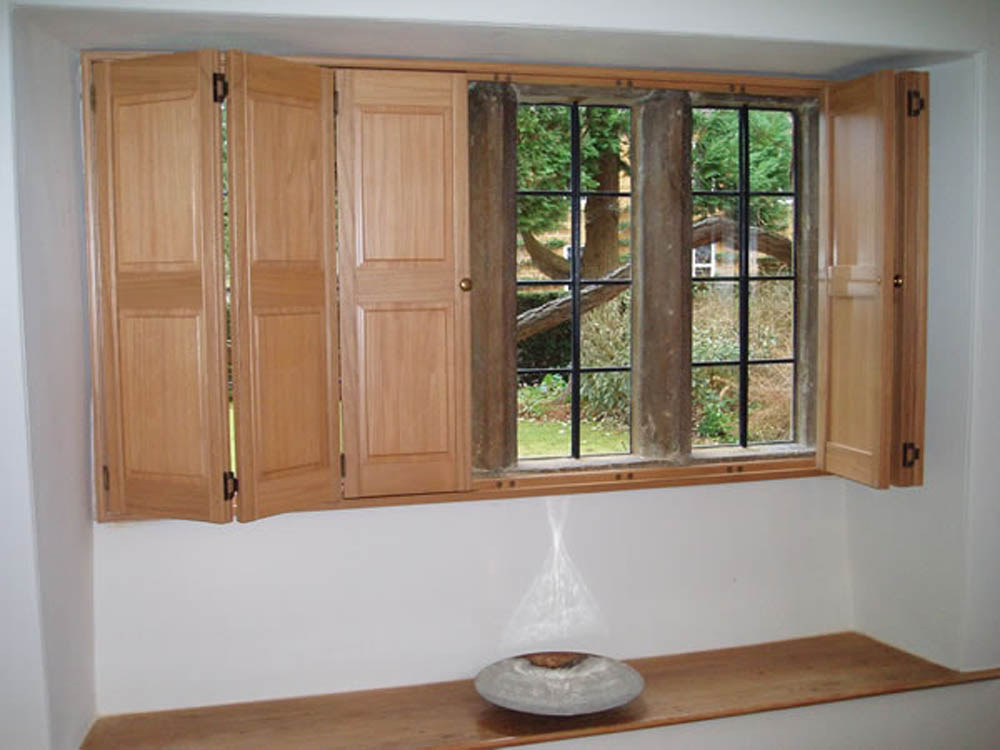 Solid Traditional Window Shutters By Aspiration Blinds